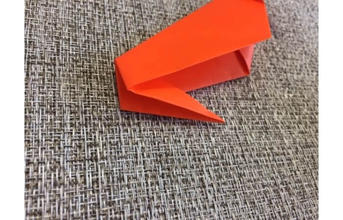 折り紙「立体カニ」の作り方8