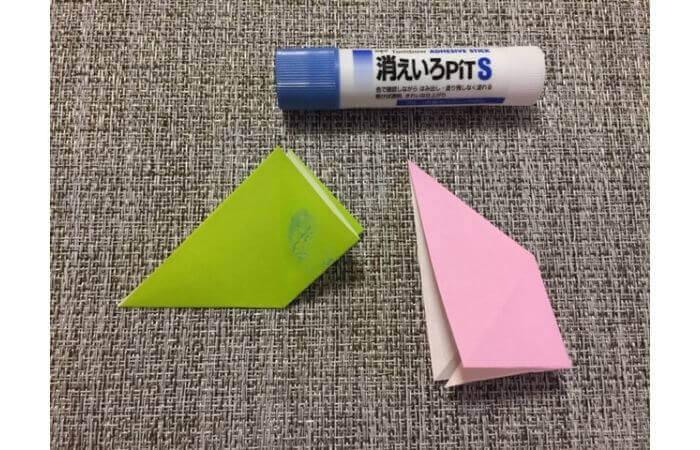 8枚の折り紙で作るリースの折り方【失敗の原因】