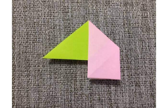 8枚の折り紙で作るリースの折り方【失敗例】