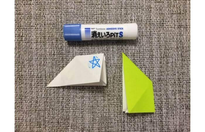 折り紙リースの作り方6