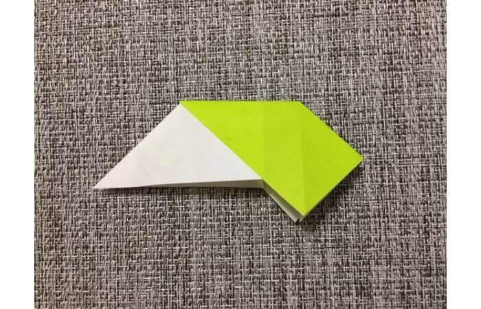折り紙リースの作り方7