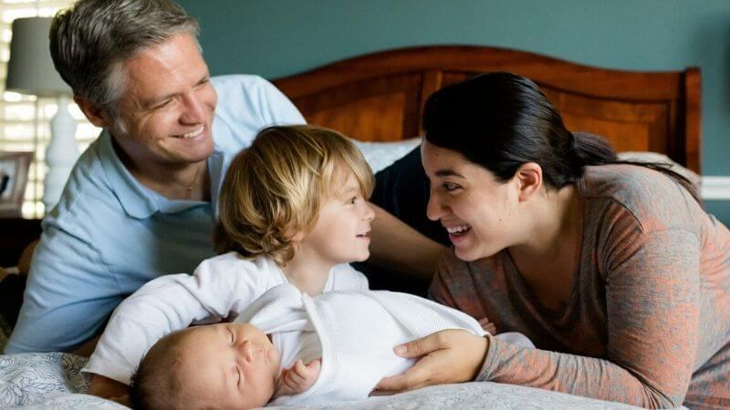 共働き家庭における父親