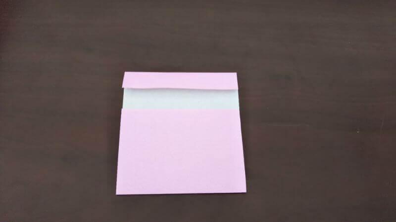 「色鉛筆(鉛筆)」の折り方3