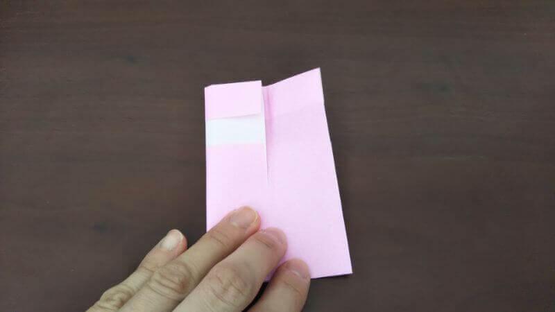 「色鉛筆(鉛筆)」の折り方4