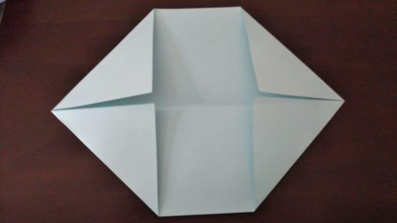 折り紙「カッパ」の折り方2