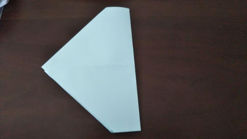 折り紙「カッパ」の折り方3