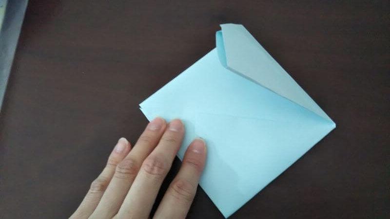 折り紙「カッパ」の折り方4-2
