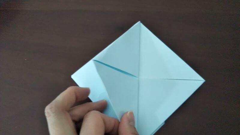 折り紙「カッパ」の折り方5