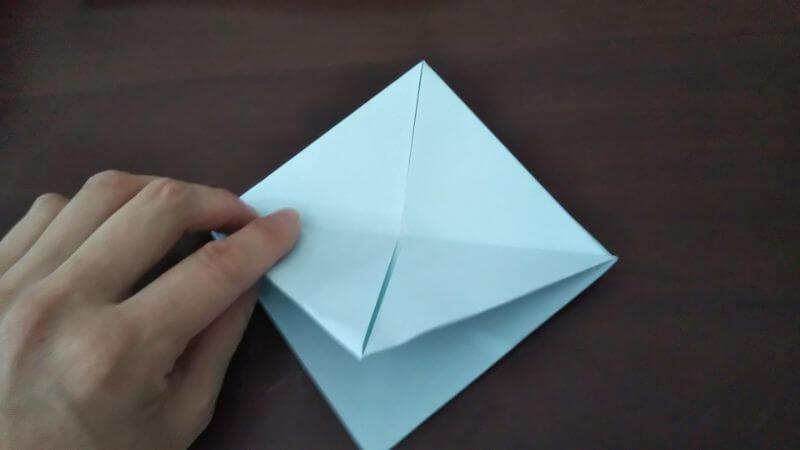 折り紙「カッパ」の折り方6