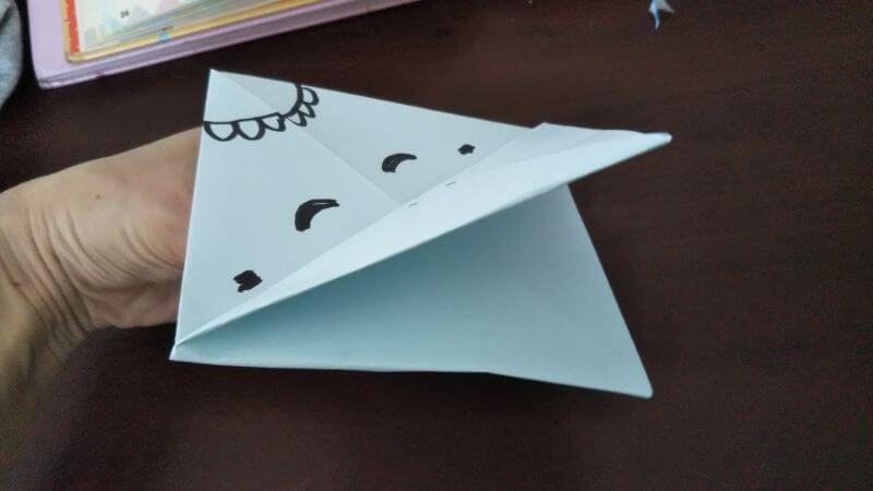 折り紙「カッパ」の折り方9