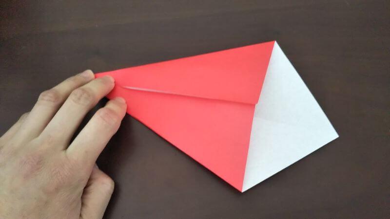 簡単折り紙|かわいい「小鳥」の折り方2