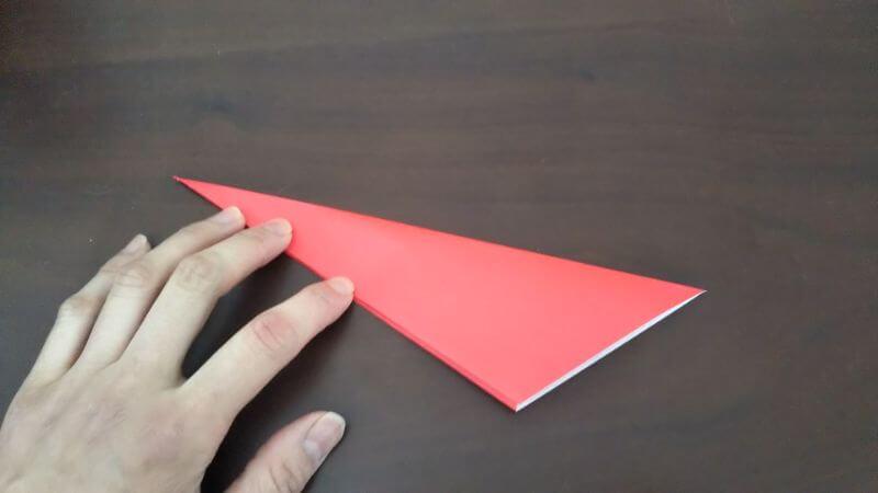 簡単折り紙|かわいい「小鳥」の折り方3