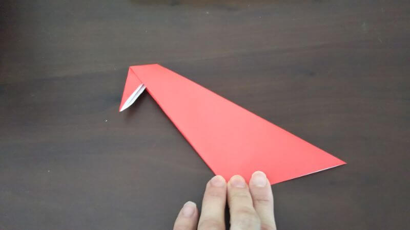 簡単折り紙|かわいい「小鳥」の折り方4