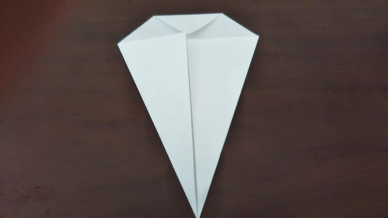 簡単折り紙「かわいいお化け」の折り方3