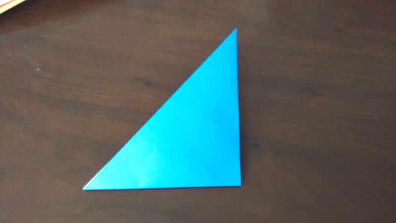 折り紙「魚釣りゲーム」の作り方2