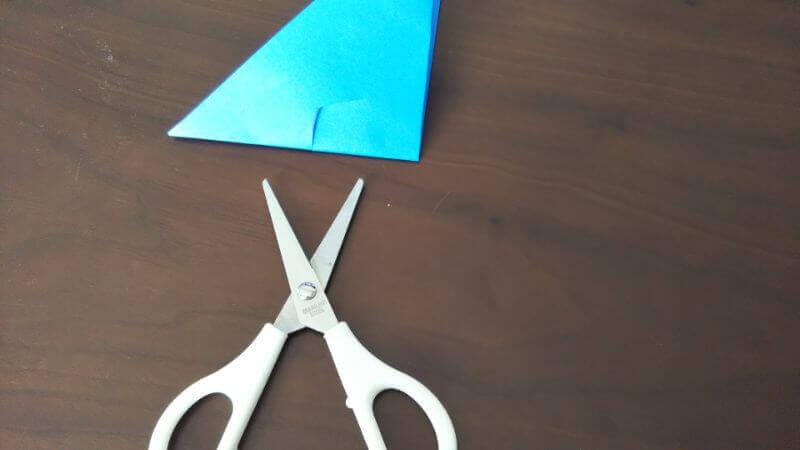 折り紙「魚釣りゲーム」の作り方3