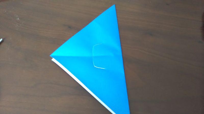 折り紙「魚釣りゲーム」の作り方4