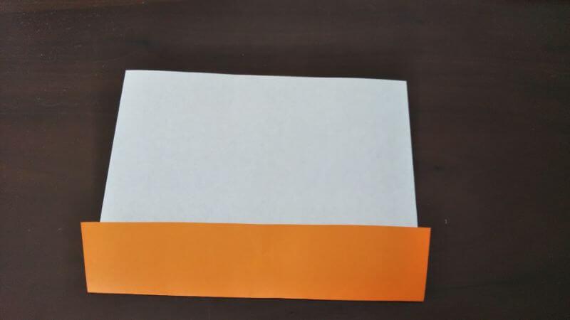簡単折り紙「トントン相撲(力士)」の作り方1