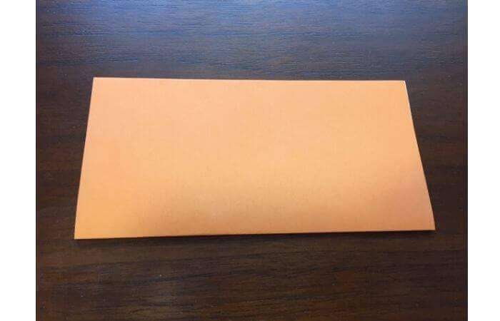簡単折り紙の本の折り方1