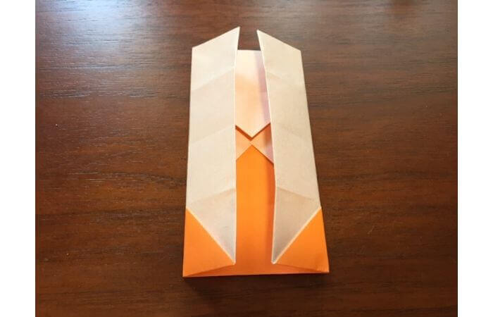 簡単折り紙の本の折り方10