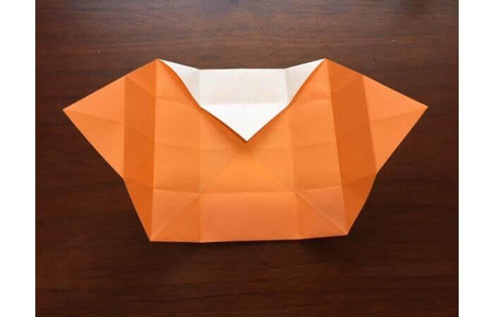 簡単折り紙の本の折り方11