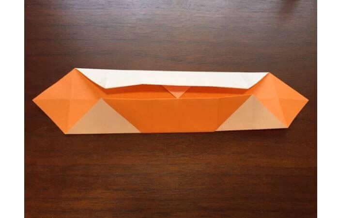 簡単折り紙の本の折り方12