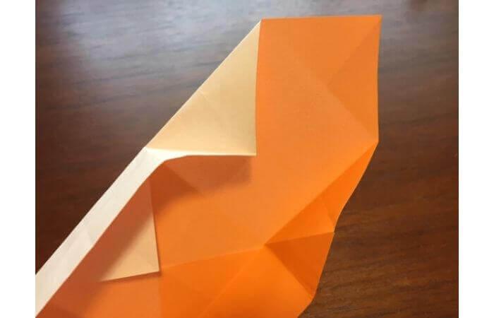 簡単折り紙の本の折り方13