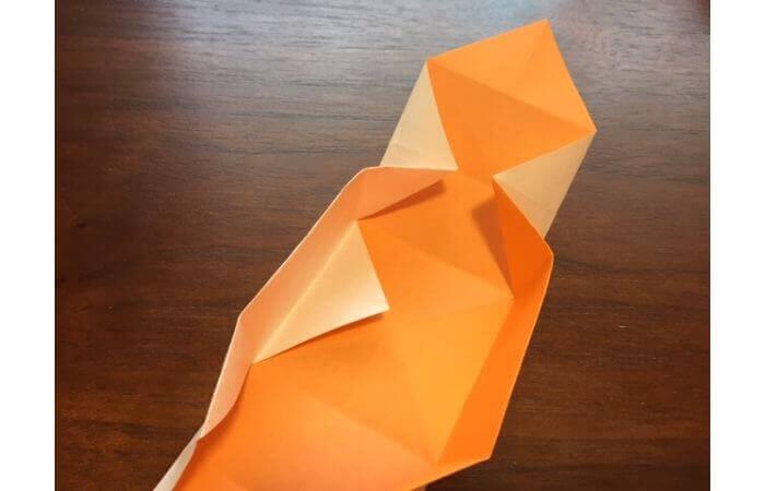 簡単折り紙の本の折り方14