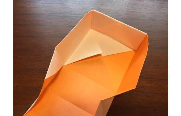 簡単折り紙の本の折り方15