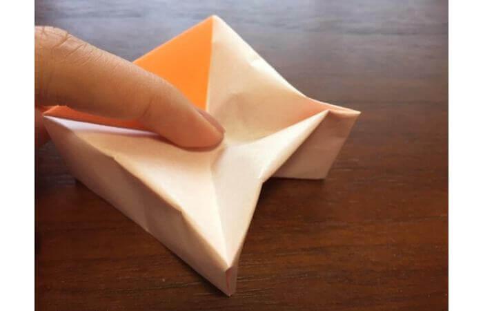 簡単折り紙の本の折り方17