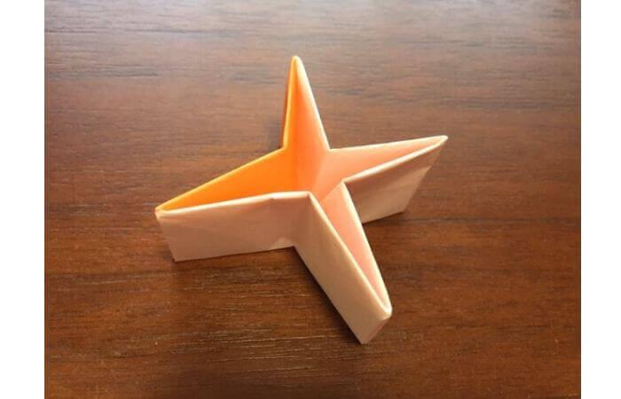 簡単折り紙の本の折り方18