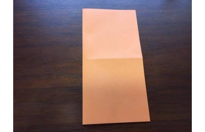 簡単折り紙の本の折り方2