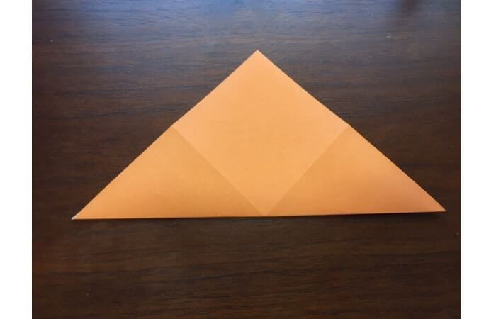簡単折り紙の本の折り方3
