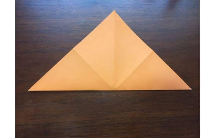 簡単折り紙の本の折り方4