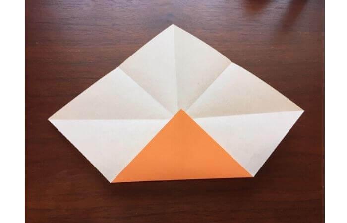簡単折り紙の本の折り方5