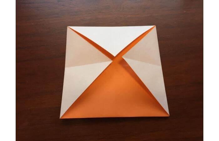 簡単折り紙の本の折り方6