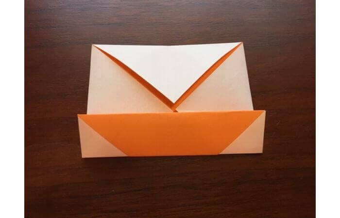 簡単折り紙の本の折り方7
