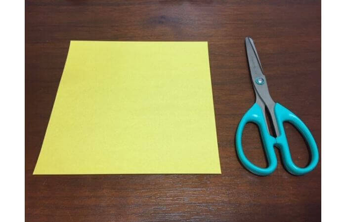 簡単折り紙!立体的な蝶々の材料