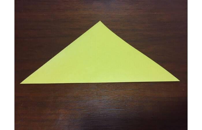 簡単折り紙|立体的な蝶々の折り方1