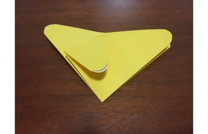 簡単折り紙|立体的な蝶々の折り方10