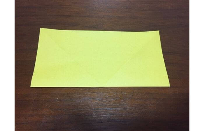 簡単折り紙|立体的な蝶々の折り方3