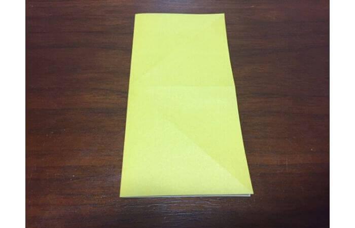 簡単折り紙|立体的な蝶々の折り方4