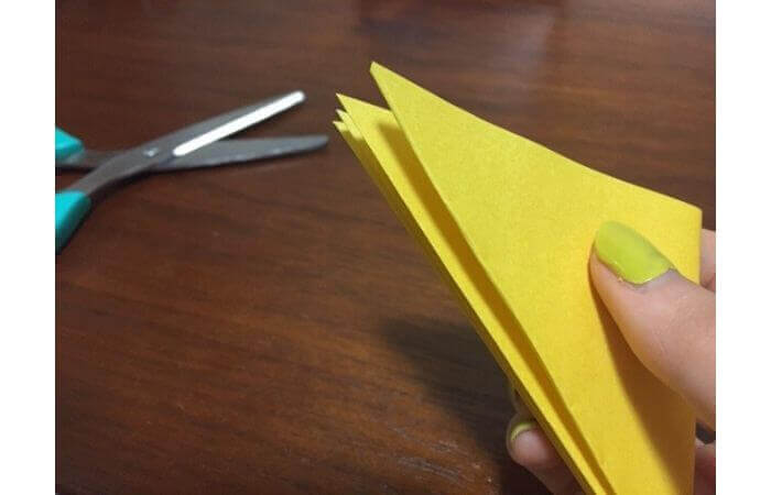 簡単折り紙|立体的な蝶々の折り方8