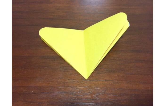 簡単折り紙|立体的な蝶々の折り方9