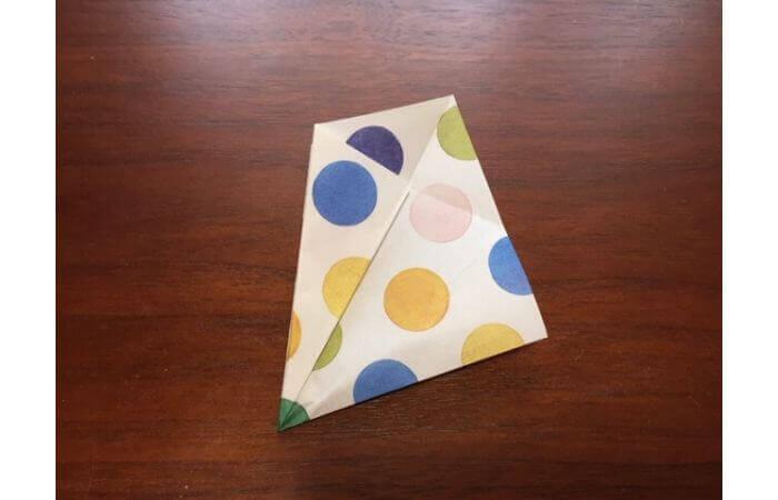 簡単折り紙「立体傘」の折り方14