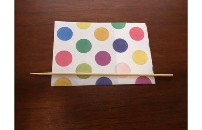 簡単折り紙「立体傘」の折り方32
