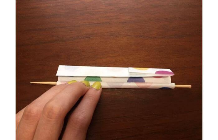 簡単折り紙「立体傘」の折り方33
